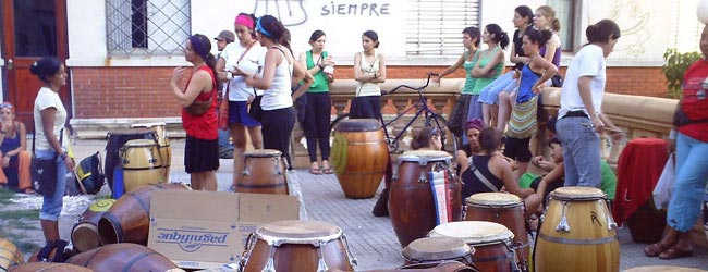 Candombe drumming in Uruguay