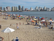 Punta del Este, Uruguay's favourite beach resort